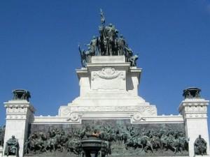 Monumento de la independencia en Sao Paulo