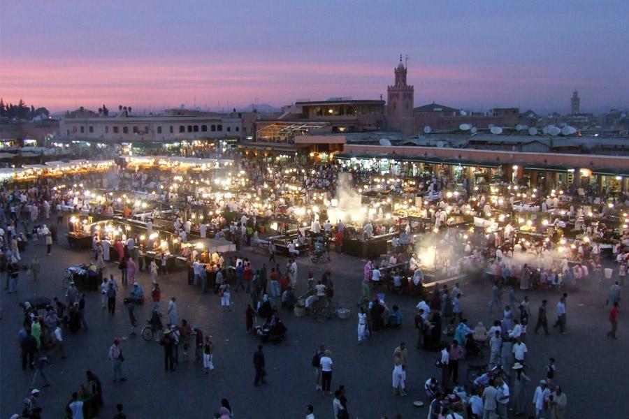 Marrakech, Destino