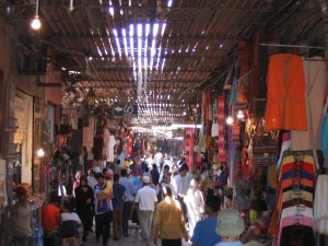Marrakech, Destino