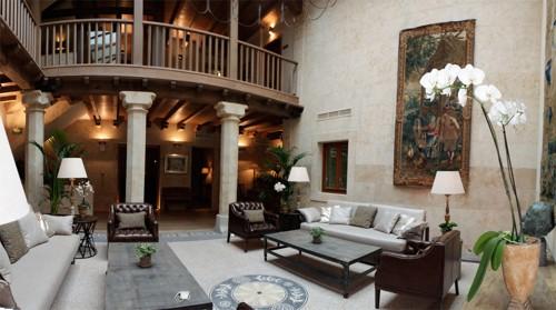 interior hotel san gregorio salamanca