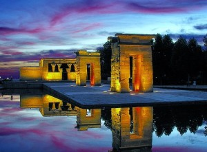 Templo de Debod, Madrid, Destino