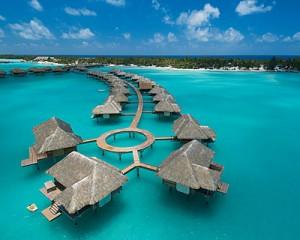 Hotel de lujo en Bora Bora