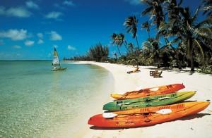 La playa en Bahamas