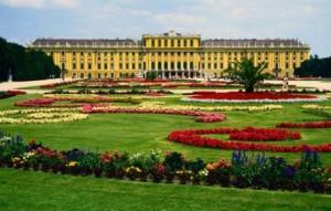 el palacio de schonbrunn en Viena